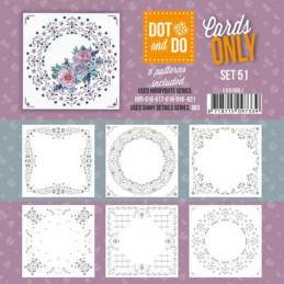 Dot and do Cartes n°51 - Lot de 6 Cartes seules