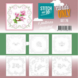 Cartes seules Stitch and do  - Set n°76