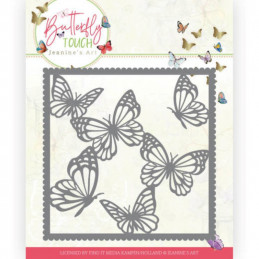 Die - Jeaninnes art - JAD1011 - Butterfly Touch - Cadre papillons