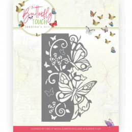 Die - Jeaninnes art - JAD10119 - Butterfly Touch - Bordure  papillons