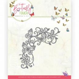 Die - Jeaninnes art - JAD10124 - Butterfly Touch - Tourbillons de papillons