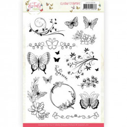 Set tampons transparents - JACS10036 - Butterfly touch
