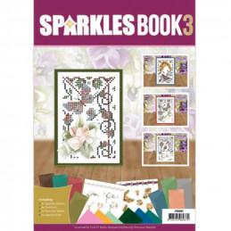 Livre Sparkles A6 N°3 - Roses