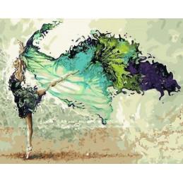 Peinture par numéro : Ballerine Moderne 40X50cm Figure d'art en vente Aux Bleuets à Reims Tinqueux