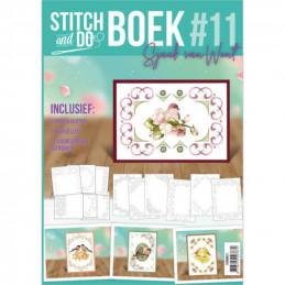 Stitch and Do Livre n°11 - Kit Carte 3D à broder