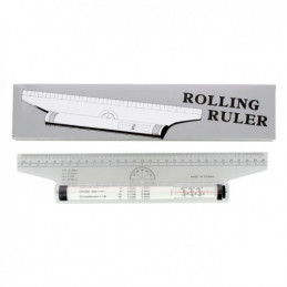 Règle roulante Rapid roll 30 cm