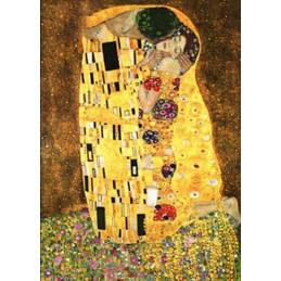 Peinture par numéro : Le baiser Klimt 40X50cm