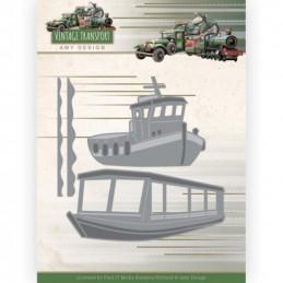 Die - ADD10251 - Vintage Transport - Bateaux