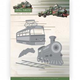 Die - ADD10252 - Vintage Transport - Train