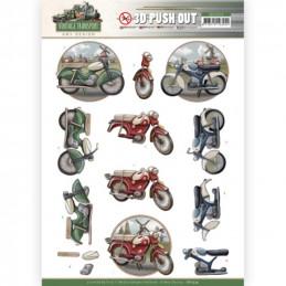 Carte 3D prédéc. - SB10574 - Vintage Transport - Moped