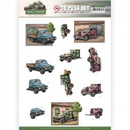 Carte 3D prédéc. - SB10575 -  Vintage Transport - Truck