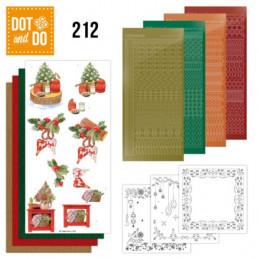 Dot and do 212 - kit Carte 3D  - Décorations de Noël