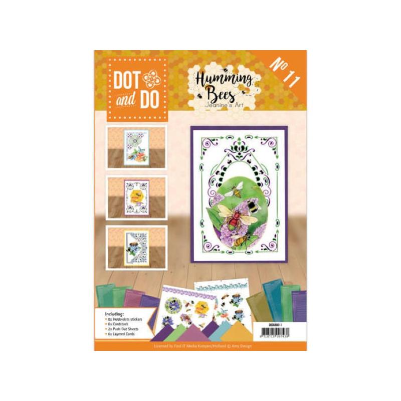 Dot and do Livre n°11 - Kit Carte 3D -  Les abeilles