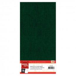 Carte 13.5 x 27 cm uni Vert...