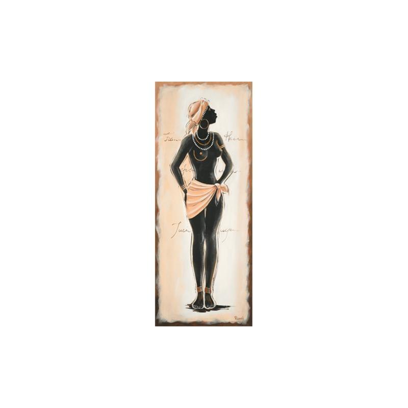 Image pour tableaux 3D - 1000831 - 20X50 - AFRICAINE