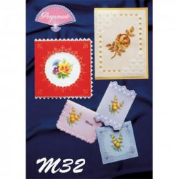 Livre Pergamano 32, Fleurs de dresden