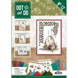Dot and do Livre n°12 - Kit Carte 3D -  Le meilleur Noël