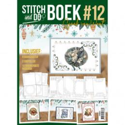 Stitch and Do Livre n°1 - Kit Carte 3D à broder - Noël