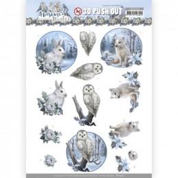 Carterie 3D prédéc. - SB10599 - Awesome Winter - Animaux d'hiver
