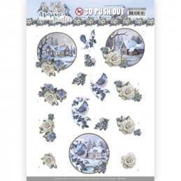 Carterie 3D prédéc. - SB10601 - Awesome Winter - Village d'hiver