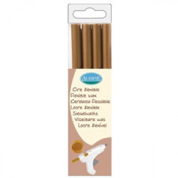 PACK 4 BATONS CIRE FLEXIBLE RONDS OR