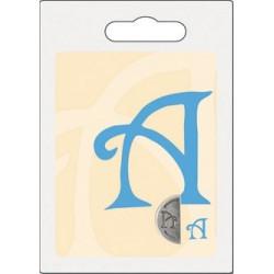 Cachet double initiale a
