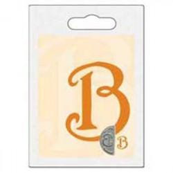 Cachet double initiale b