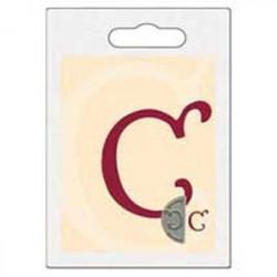 Cachet double initiale c