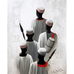 Image 3D 2000839 - 40X50 - AFRICAIN DE DOS