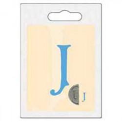 Cachet double initiale j
