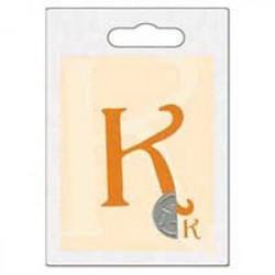 Cachet double initiale k