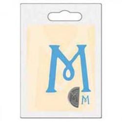 Cachet double initiale m