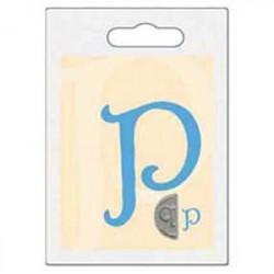 Cachet double initiale p