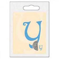 Cachet double initiale y