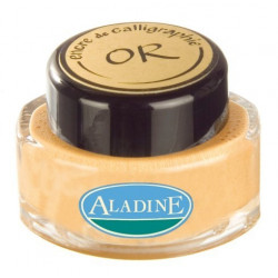 Encre de calligraphie 15ml old gold