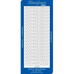 Stickers - 1032 - chiffres...