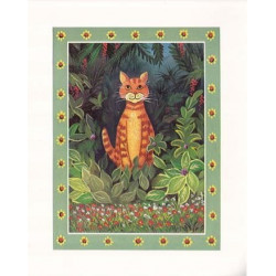 Image 3D - 9107066 - 24x30 - chat tigre