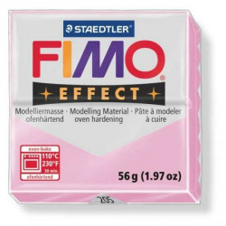 Pâte Fimo soft Effect Rose pastel 205 - 56 gr