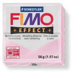 Fimo soft effect 56 gr rose...