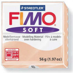 Pâte Fimo soft 56 g chair n°43