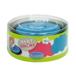 Stampo baby encreurs turquoise rose