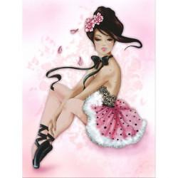 Image pour tableau 3D 30x40 cm Lilou danseuse GK3040030