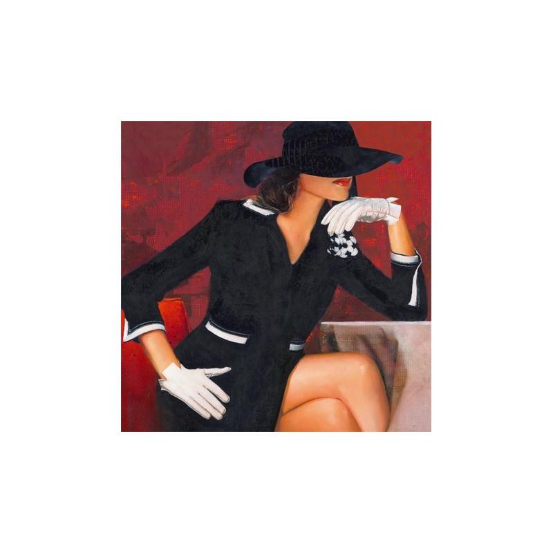 Image 3D - GK4040004 - 40x40 - FEMME GANTS BLANCS