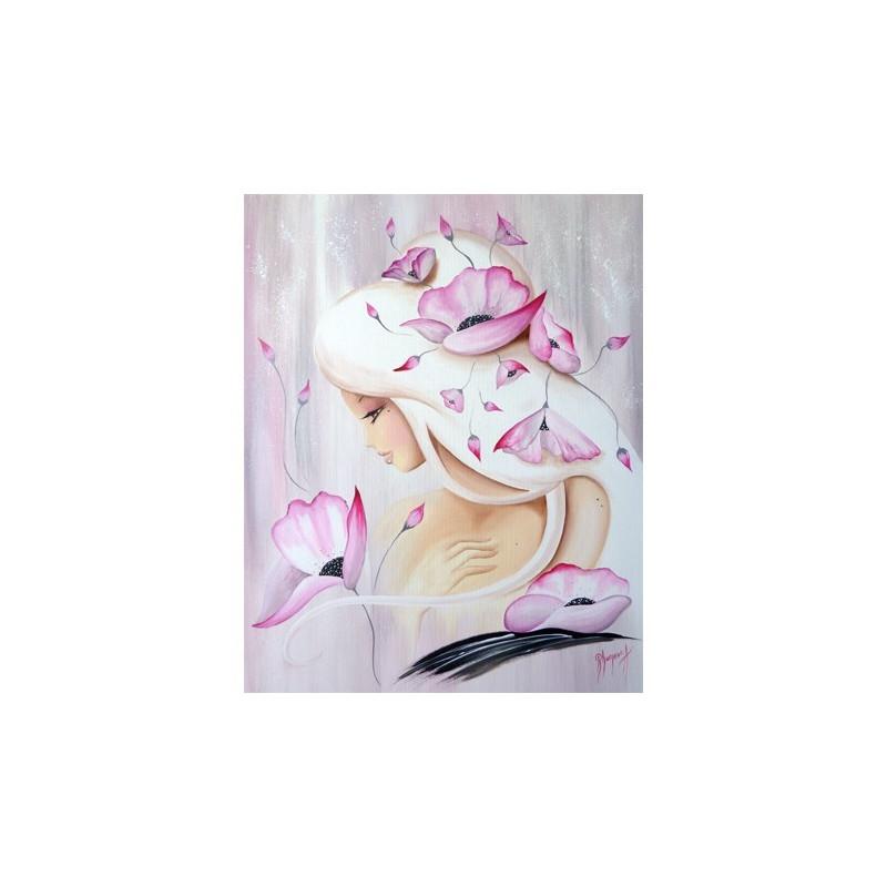 image 3d gk4050019 40x50 lilou poudre rose. Black Bedroom Furniture Sets. Home Design Ideas