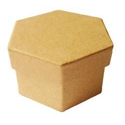 Boite carton hexagonale 78x50
