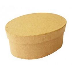 Boite carton ovale 90x63x38