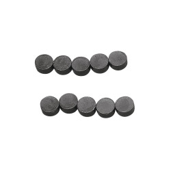 Aimant,8 mm ø,10 pieces
