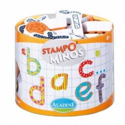Stampominos alphabet