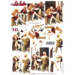 Carte 3D à découper -...