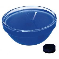 Colorant pour cire et gel, bleu foncé,